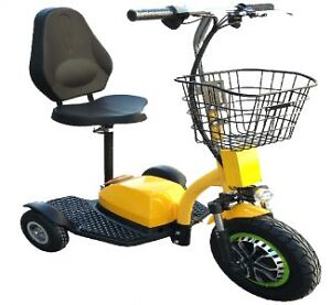 TRIPOTEUR NEUF / NEW THREE WHEEL ELECTRIC SCOOTER