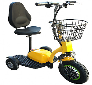Zappy scooter 3 roues, triporteur