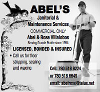 Abel's janitorial services