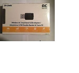 D-Link Wireless AC600 Dual-Band USB Adapter (DWA-171)