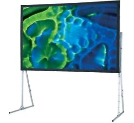 Projector outdoor screen 6ft x 8ft