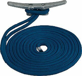Sea Dog 302119035WH1; Double Braid Nylon Dock Line 3/4X35 White Made by Sea Dog
