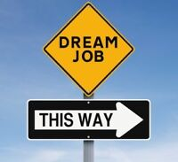 Are you looking for work?  Get the job you want.