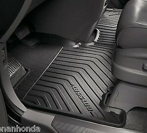 Honda Oddysey 2011-2017 All-Weather Floor Mats and Seat Covers