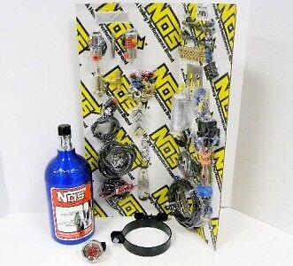 Motorcycle Bike Efi Wet Nitrous Nitro Oxide System Direct Port 4 Fogger Kit