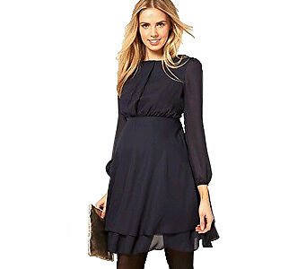 Double-Layer Dress with Long Sleeves by Asos