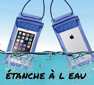 pochette cellulaire waterproof / waterproof cell phone pouch