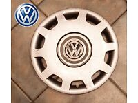 GENUINE VW WHEEL TRIM 16 INCH BEETLE GOLF PASSAT POLO HUBCAP 3B0601147