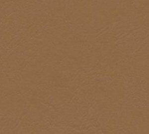 Tan leather-look vinyl for furniture upholstery