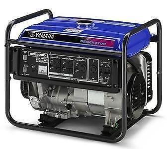 Yamaha gas generator ebay for Yamaha 2000 generator run time