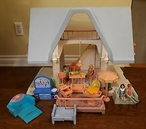 doll house castle Dora telephone little tikes rocking chair stro
