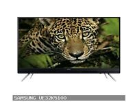 Brand New Samsung UE32K5100 32 Inch Full HD LED TV RRP: £320 *little crack on the Screen*