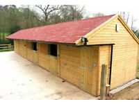 LOG CABINS BEACH HUTS CHALETS HORSE STABLES LOG HOMES GARDEN OFFICES BESPOKE HAND BUILT UK LONDON