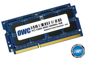 OWC 8gb ram upgrade for Apple Computer