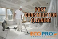 Post Construction Clean-Up Services