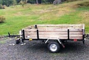 NEW PRICE!!! Utility trailer with tool box