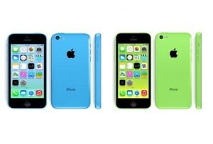 Like New Bell/ Virgin (16GB Blue & Green) (8GB Yellow) iPhone 5C