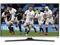 Samsung UE40J5100 40inch Screen in Black - rarely used TV and remote control in excellent condition