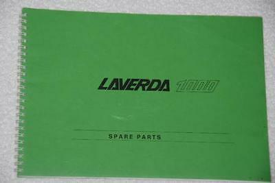 Laverda 3C Parts Manual Pre 76
