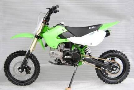 150cc, 125cc, MX140  Dirt bikes