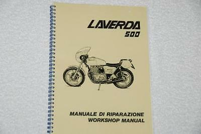 Laverda 500/350 Workshop Manual
