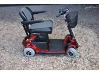 Amazing Pride Revo Mobility Scooter Portable New Batteries 21 Stone Capacity Only £375
