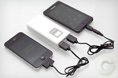 Power bank with two charging ports