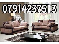 DINO SOFA RANGE CORNER SOFAS 3+ 2 SETS ARM CHAIRS FOOT STOOLS 54754
