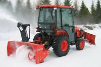 COMMERCIAL & RESIDENTIAL SNOW REMOVAL SERVICES (Downtown area)