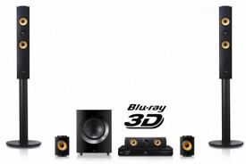 LG 3D Blu-ray Home Cinema BH7440 1200watt 4k Upscaler 5.1 Cinema System