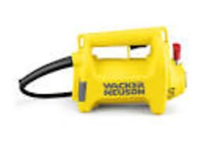 ELECTERIC CONCRETE VIBRATOR AT READY TO RENT EQUIPMENT!!