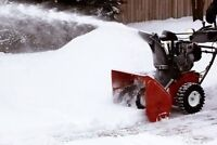 Snow removal time