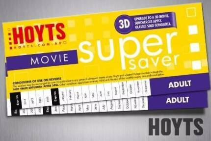 HOYTS MOVIE TICKETS
