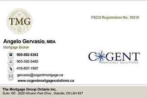 Pay off your Credit Cards. 2nd Mortgage from 6%. Save Up To 85%! Oakville / Halton Region Toronto (GTA) image 1