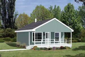 $ 30,500 NEWLY CONSTRUCTED COTTAGE 24 X 24 ON YOUR LOT