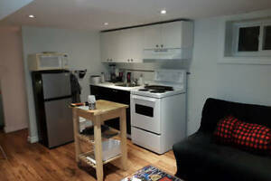 Danforth and Broadview Basement Studio $900 NOV 01/2017