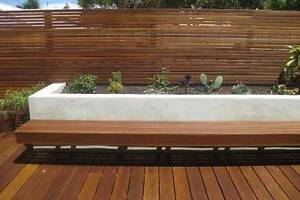 Decking Tallowwood Feature Grade 130mm - 130x19mm Tallow Deck Ingleburn Campbelltown Area Preview