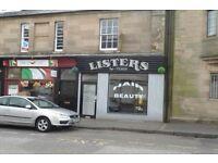 Salon, 11 Mar Street, Alloa To Let £500pcm