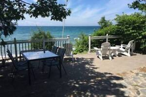 Beachfront house in Balm Beach, ON available till May 2019