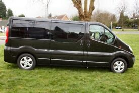 Black Vauxhall VIVARO 2900 Sport CDTI LW, Manual WITH TAIL LIFT