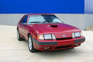 1986 Ford SVO Mustang