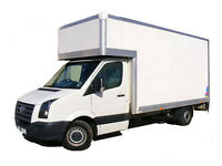 24/7 URGENT MAN AND LUTON VAN REMOVAL & COURRIER SERVICE MOVING TRUCK HIRE WITH A TAIL LIFT & MOVER