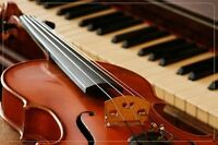 Violin/Piano Lessons (beginning in September)