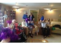 Part Time Temp Music Presenter for Care Homes