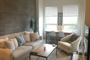Beautiful Fully Furnished 1BR + Den in Lower Lonsdale