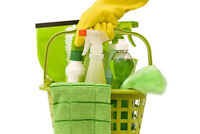HOUSE CLEANER WANTED Wed - Friday $17/hr