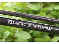 diawa black widow rods X2