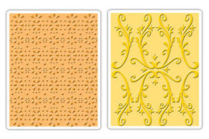 Sizzix  A2 Embossing Folders 2PK - Country Cottage - $12