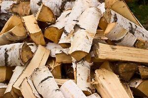 Cured Birch Firewood
