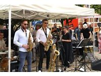 Jazz up May Day at Leopold Square